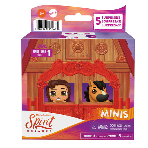 Spirit Untamed Minis Deluxe (Styles Vary)
