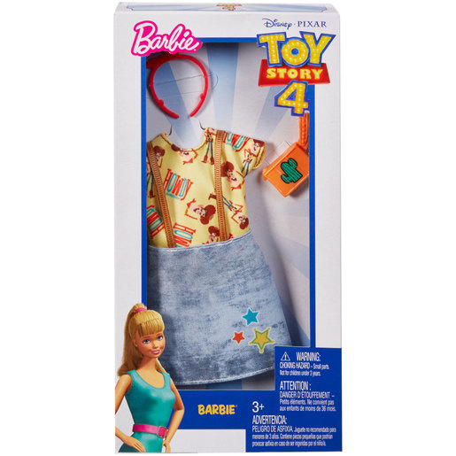 Barbie Complete Looks Fashion: Toy Story 4 - Cowby Pinafore Dress
