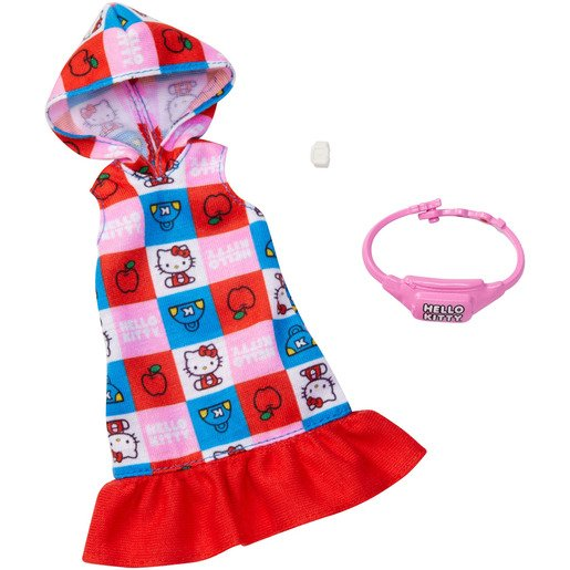 Barbie Complete Looks Fashion: Hello Kitty - Hooded Dress & Bag