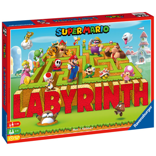 Ravensburger: Super Mario Labyrinth - The Moving Maze Game