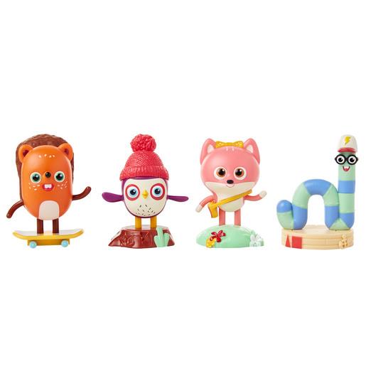 Becca's Bunch 4 Pack - Figure set