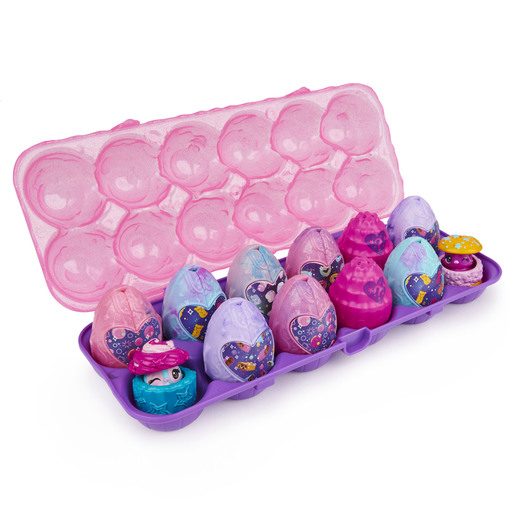 Hatchimals CollEGGtibles - Cosmic Candy 12-Pack Egg Carton