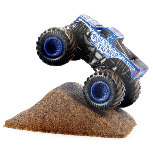 Monster Jam Dirt Starter Set 1:64 - Blue Shaker