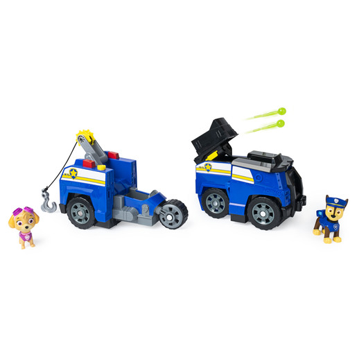 Paw Patrol - Chase 2-in-1 Vehicle & Figures