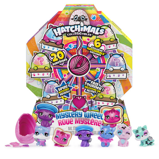 Hatchimals CollEGGtibles - Mystery Wheel with 20 Surprises (Style May Vary)