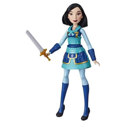 Disney Princess Warrior - Mulan Doll with Sword