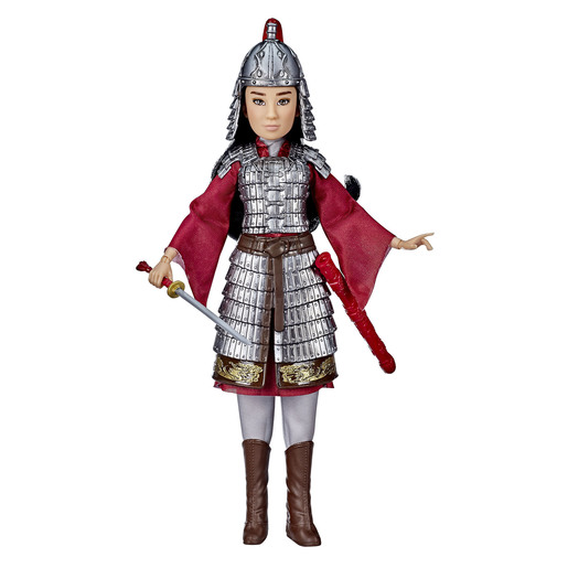 Disney Princess Warrior -  Mulan Fashion Doll Set