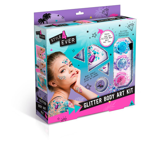 Style 4 Ever Glitter Tattoo Body Art Kit