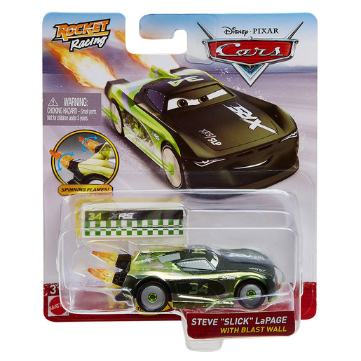 Disney Pixar Cars: Rocket Racing - Steve 'Slick' LaPage