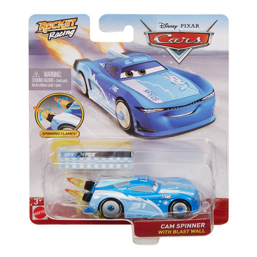 Disney Pixar Cars: Rocket Racing - Cam Spinner