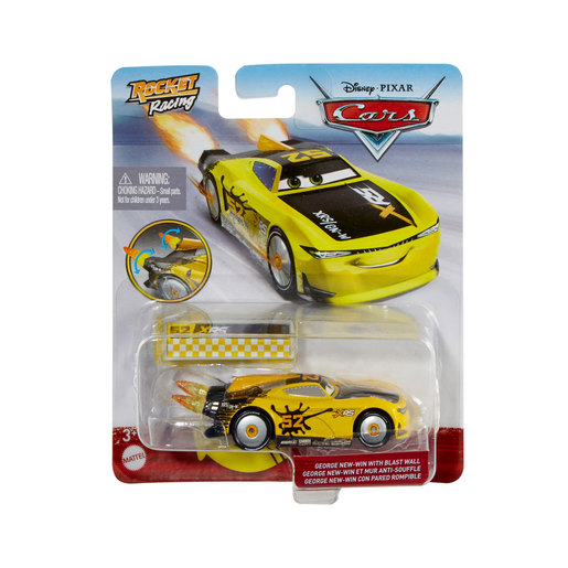 Disney Pixar Cars: Rocket Racing - George New-Win