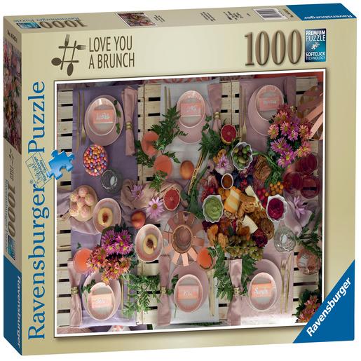 Ravensburger Love you a Brunch 1000pc Jigsaw Puzzle