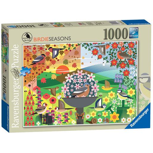 Ravensburger I Like Birds - Birdie Seasons 1000pc Jigsaw Puzzle