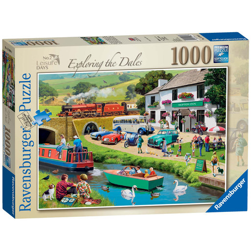 Ravensburger Exploring the Dales 1000pc Jigsaw Puzzle