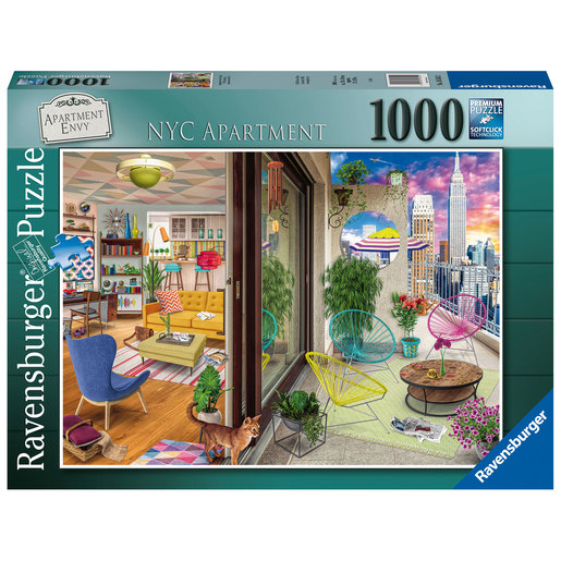Ravensburger - NYC Apartment Vision 1000pc Puzzle