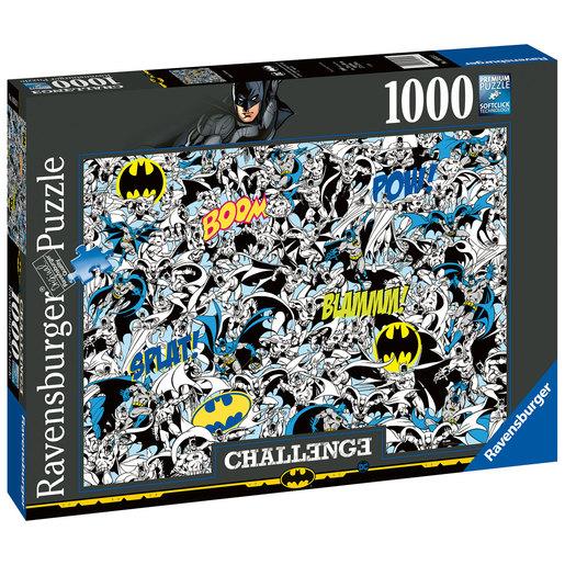 Ravensburger   Batman 1000pc Challenge Jigsaw Puzzle