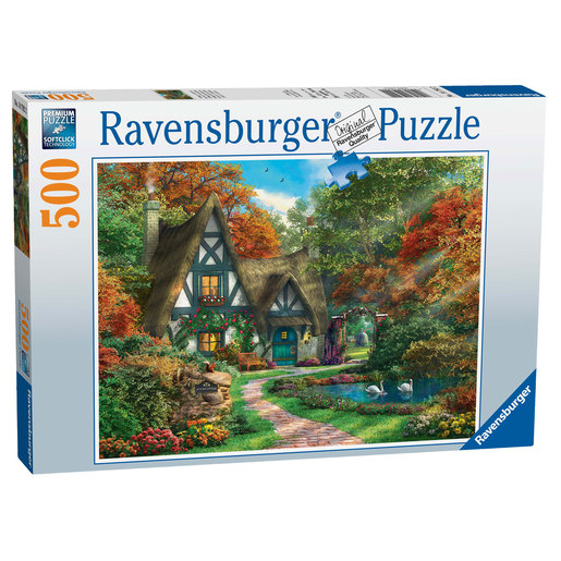 Ravensburger Cottage Hideaway 500pc Jigsaw Puzzle