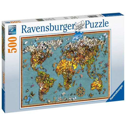 Ravensburger World of Butterflies 500pc Jigsaw Puzzle