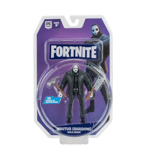 Fortnite Solo Mode 10cm Core Figure  - Brutus Shadow