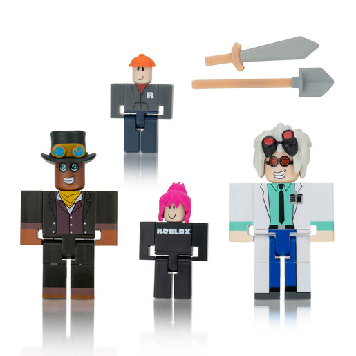 Roblox Celebrity Game Figure Pack - Playtale Inventor Pack