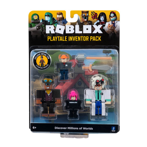 Roblox Celebrity Game Pack - Playtale Inventor Pack