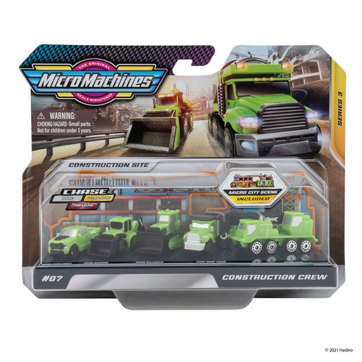Micro Machines World Pack - Construction Crew
