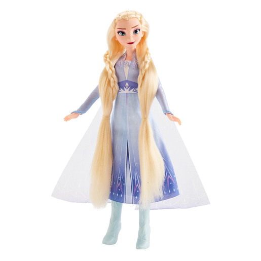 Disney Frozen 2 - Sister Styles Elsa Fashion Doll