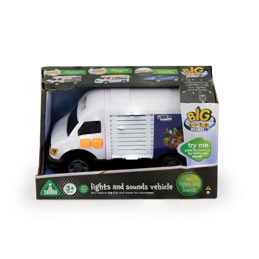 Big City Lights & Sounds Delivery Van