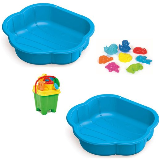 Sand & Water Play Pit Set  With Accessories   Blue