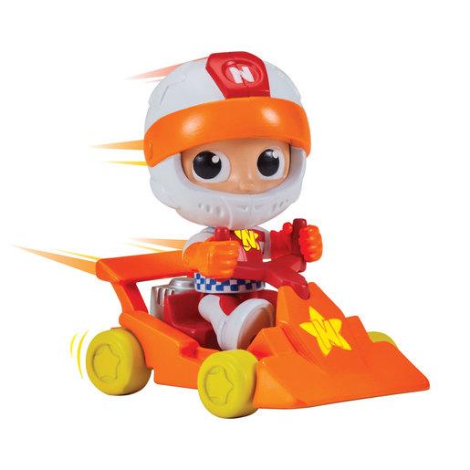 Vlad & Niki 7.5cm Figure - Racer Niki with Go-Kart