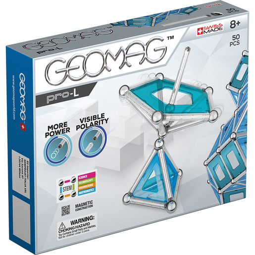 Geomag Pro-L Construction Set - 50pcs