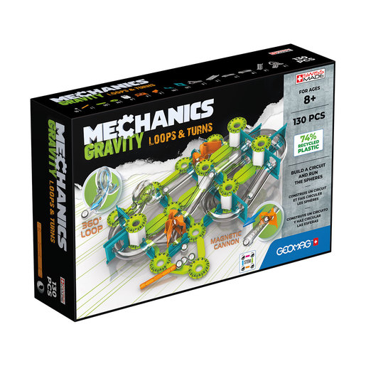 Geomag Mechanics Loops And Turns Construction Set   130pc