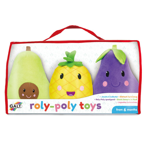Roly Poly Fruit Soft Toys
