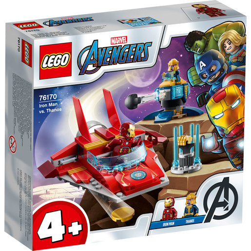LEGO Marvel Iron-Man VS Thanos - 76170
