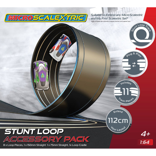 Micro Scalextric Track Stunt Extension Pack - Stunt Loop