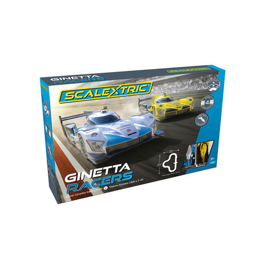 Scalextric Ginetta Racers Mains Powered Set