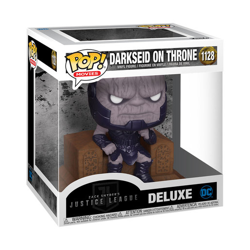 Funko Pop! Movies: Zack Snyder's Justice League - Darkseid On Throne (Deluxe)