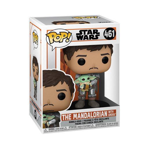 Funko Pop! Star Wars: The Mandalorian With Grogu