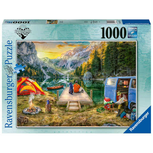 Ravensburger Calm Campside 1000pc Jigsaw Puzzle