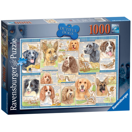 Ravensburger Dutiful Dogs 1000pc Jigsaw Puzzle