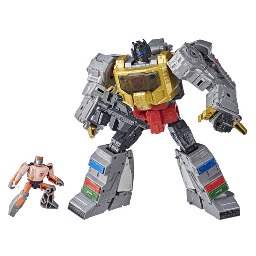 Transformers The Movie: Studio Series 11cm Figures - Grimlock & Autobot Wheelie