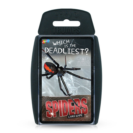 Which Is The Deadliest Spider Top Trumps Card Game