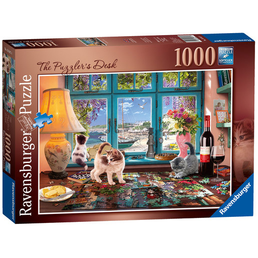 Ravensburger The Puzzler's Desk 1000pc Jigsaw Puzzle