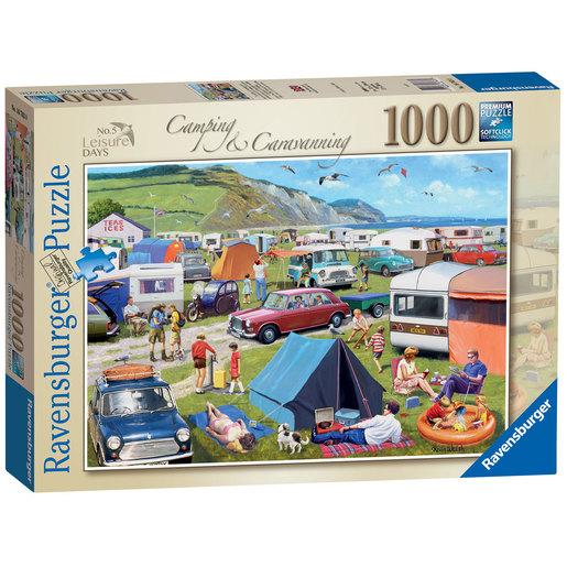 Ravensburger Camping & Caravanning 1000pc Jigsaw Puzzle