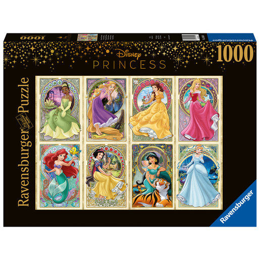 Ravensburger Disney Princess - Art Noveau 1000pc Jigsaw Puzzle