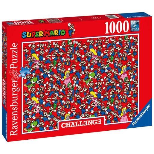 Ravensburger Super Mario 1000pc Challenge Jigsaw Puzzle