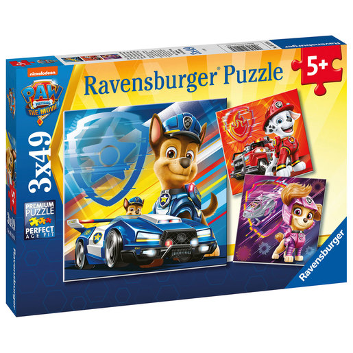Ravensburger 3 in A Box Puzzles - Paw Patrol The Movie from TheToyShop
