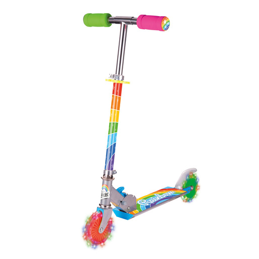 Rainbow Scooter with Light Up Wheels