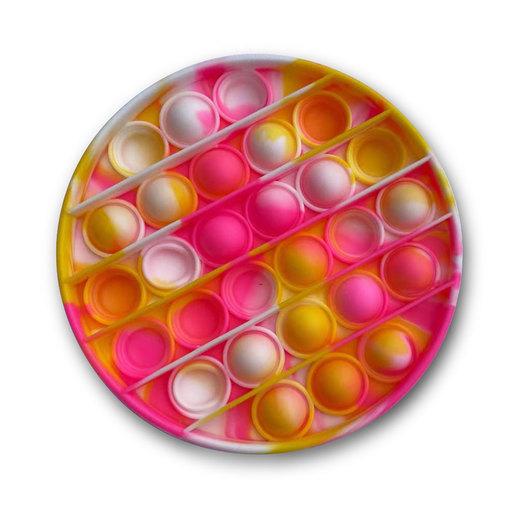 Tie Dye Push Popper Toy (Styles Vary)