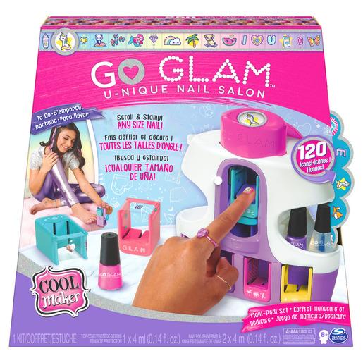 Cool Maker Go Glam U-nique 2-in-1 Nail Printer Studio